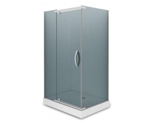 Душевое ограждение  AB244-120  1200*900*2000 (без поддона) тонированное стекло