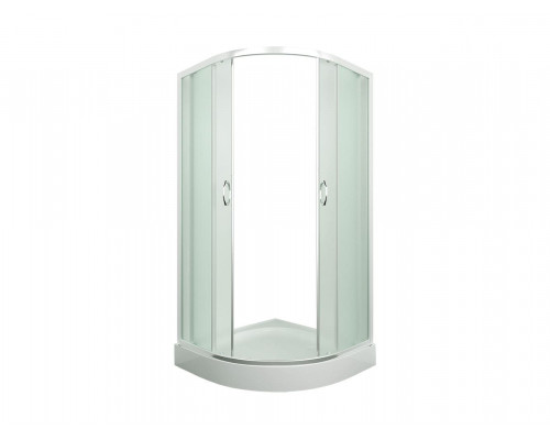Душевое ограждение ER0510 - C3 1000*1000*1950 низкий поддон, прозрачные стекла