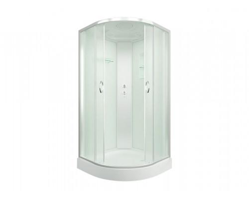 Душевая кабина ER3510P-C3 1000*1000*2150 низкий поддон, светлое стекло