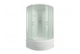 Душевая кабина ER3510TP-C3 1000*1000*2150 высокий поддон, светлое стекло