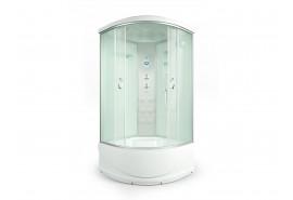 Душевая кабина ER4510TP-C3 1000*1000*2150 высокий поддон, светлое стекло