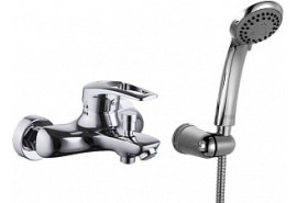Смеситель для ванны с коротким изливом Iddis Carlow Plus CRPSB00i02