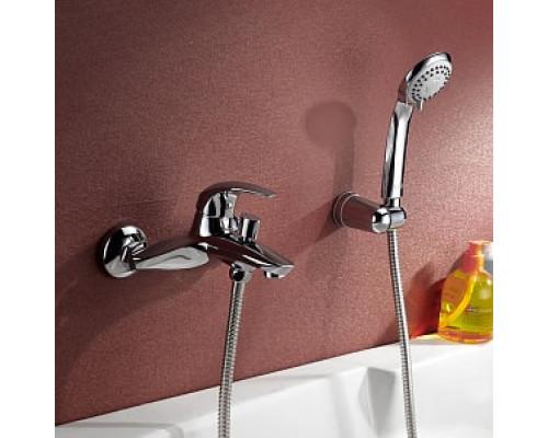 Смеситель для ванны с коротким изливом Iddis Leaf LEASB00I02
