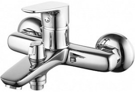 Смеситель для ванны с керамическим дивертором Iddis Zodiac ZODSB02I02WA