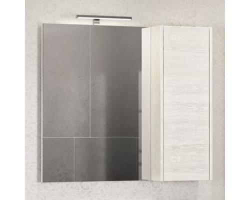 "Зеркало-шкаф ""Бремен-90"" дуб белый COMFORTY."