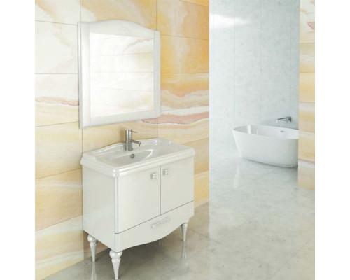 "Зеркало ""Монако-80"" белый глянец COMFORTY"