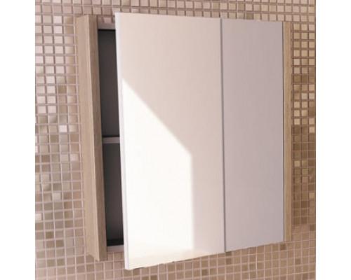 """Зеркало-шкаф """"Тулуза-60"""" сосна лоредо COMFORTY."""