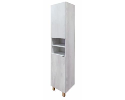 "Шкаф-колонна ""Верона-35"" дуб белый Comforty."
