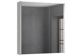 Зеркало-шкаф Женева 75 белый дуб COMFORTY.
