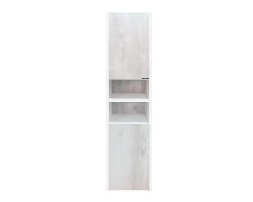 """Шкаф-колонна """"Женева 35"""" белый дуб COMFORTY."""