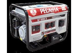 Генератор бензогенератор портативный БГ 9500 Э РЕСАНТА 64/1/49