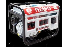 Генератор бензогенератор портативный БГ 9500 Р РЕСАНТА 64/1/53