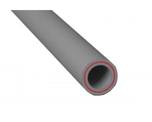 Труба PP d 40 со стекловолокном (2 м) серая