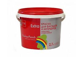 Краска акриловая Радуга 114 Экстра база С 2,7 л