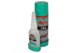 Клей AKFIX 705 двухкомпонентный(набор)200мл