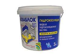 Мастика гидроизоляционная Aquablock Радуга-021 3кг