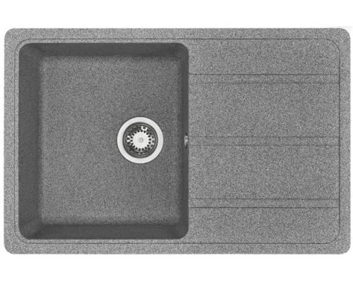 Мойка кухонная Аманда 780*510*211, серый Акватон