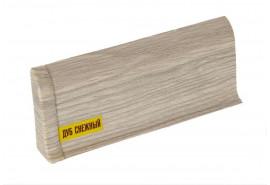Плинтус напольный ПВХ «Дуб Высокогорный», высота 65 мм, длина 2.5 м