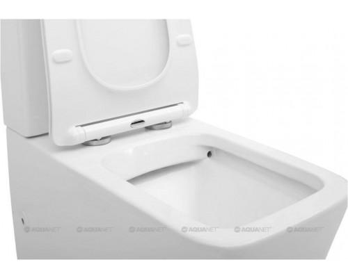 Унитаз-компакт TAVR-2.0W (сиденье дюропласт Slim, LIFT) AQUANET