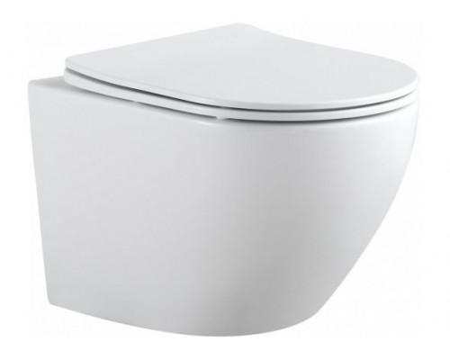 Унитаз подвесной CETUS-W (сиденье дюропласт Slim, LIFT, 18 см) AQUANET