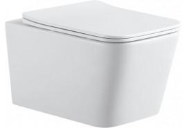 Унитаз подвесной TAVR-2.0W (сиденье дюропласт Soft Close-SLIMSEAT) AQUANET