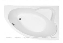 Ванна акриловая Aquanet Sarezo 160x100 R