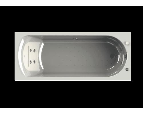 Акриловая ванна Wachter (Radomir) Кэти 168x70 см с гидромассажем