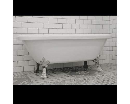 """Ванна акриловая отдельностоящая Радомир Леонесса на ножках """"лилия хром"""""""
