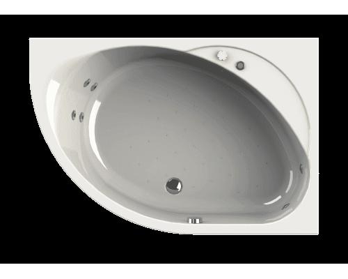 Акриловая ванна Wachter (Radomir) Мелани 140x95 см с гидромассажем правая