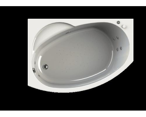 Акриловая ванна Wachter (Radomir) Монти 150x105 см с гидромассажем правая