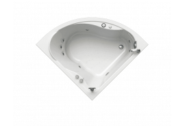 Акриловая угловая ванна Wachter (Radomir) Альтея 125x125 см